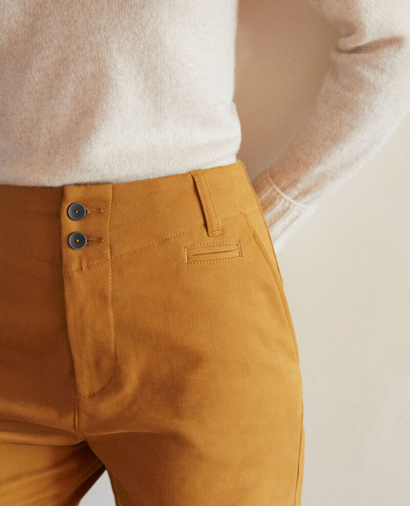 Pantalon chino Golden brown Gabini