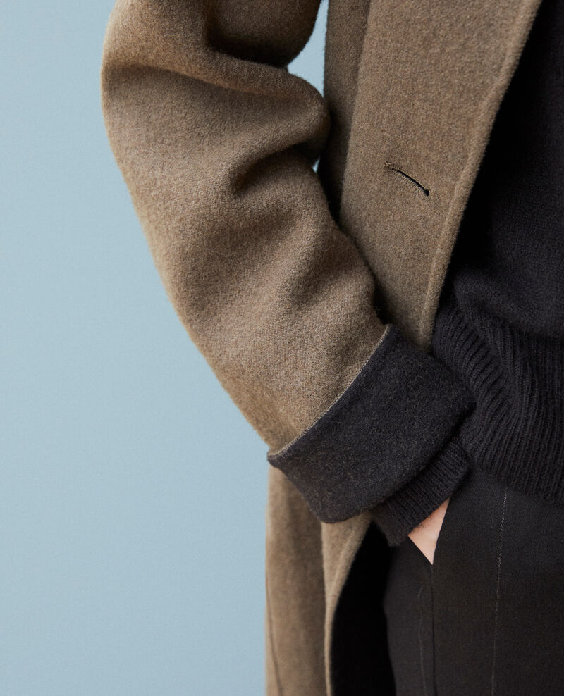 Manteau double face Olive night Gexpresso