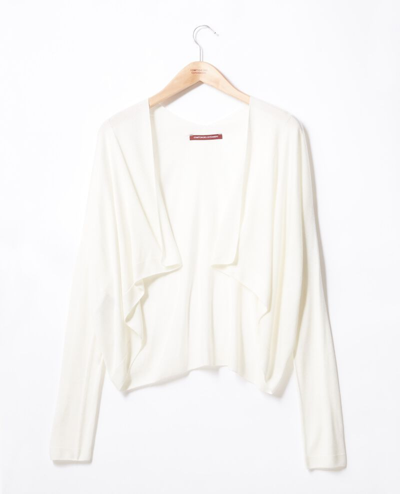 Cardigan court Off white Faufil
