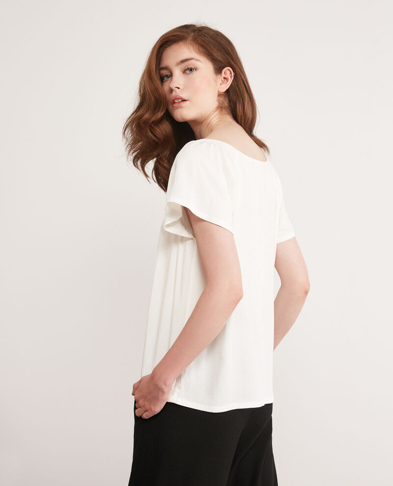 Blouse fluide Off white Deal
