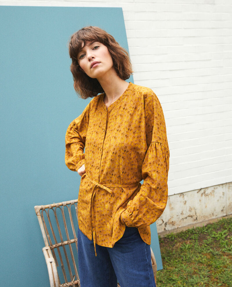 Blouse coupe ample LD GOLDEN SPICE