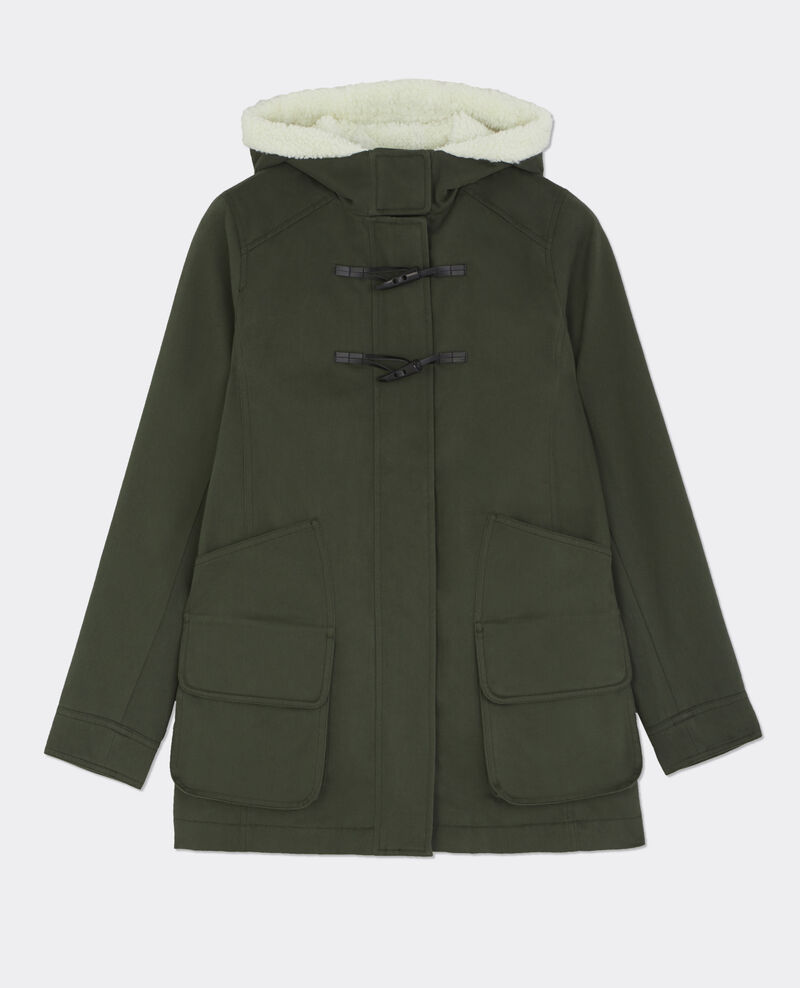 Parka en coton Hunter green Besson