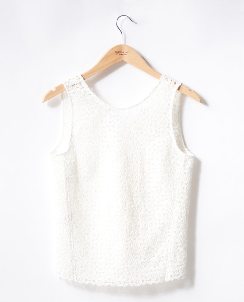 Top en broderie anglaise Off white Foulouse