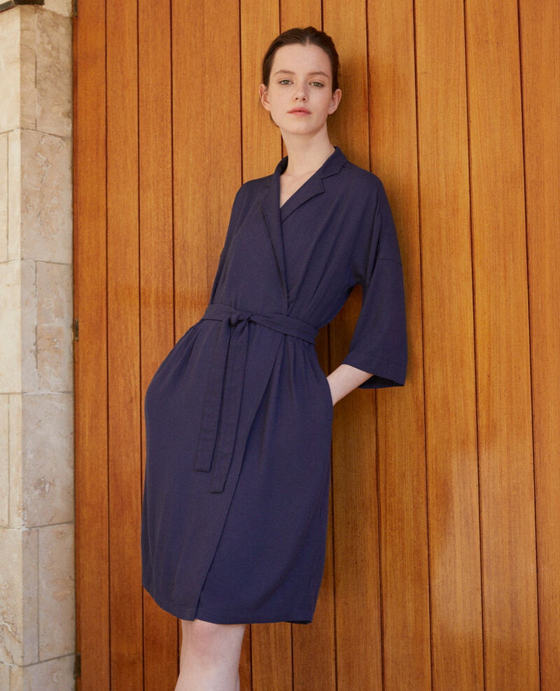 Robe portefeuille PEACOAT