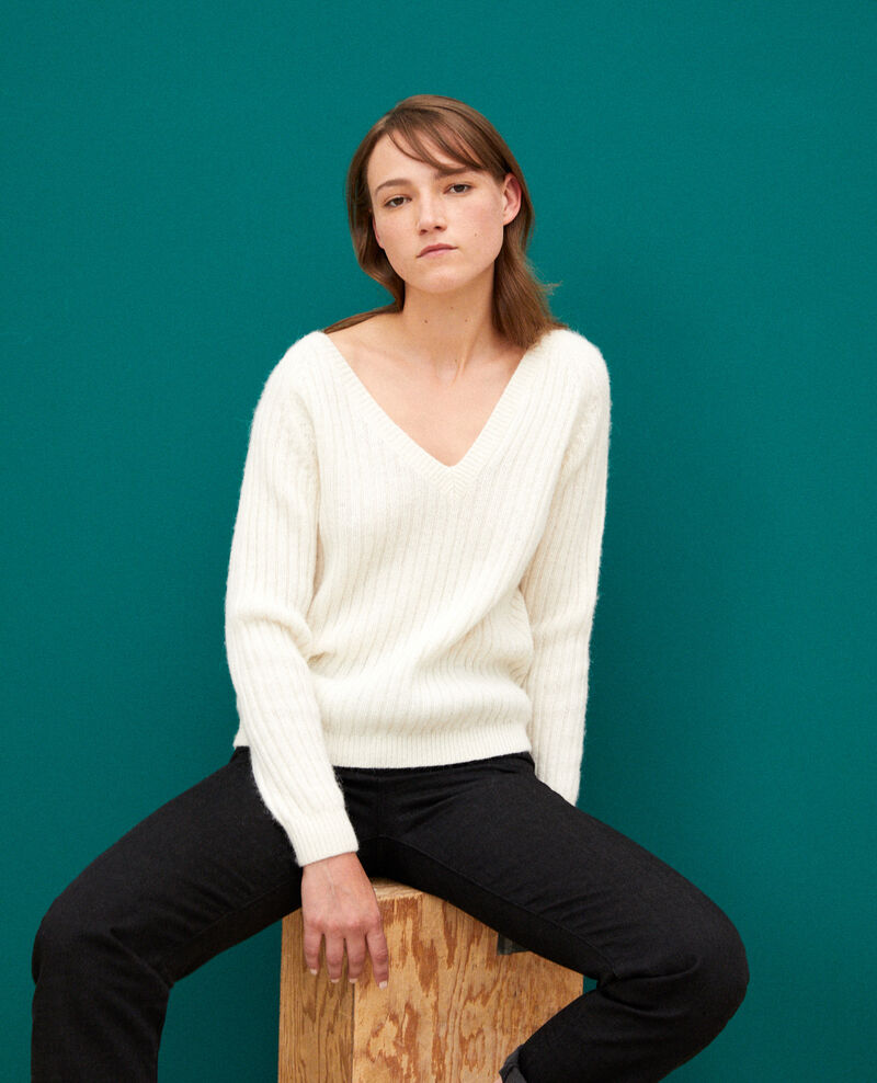 Pull réverssible OFF WHITE