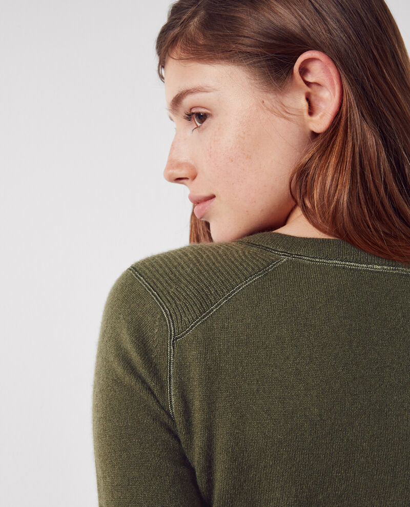 Pull en cachemire Army Chica