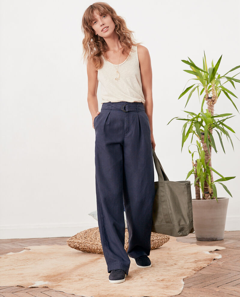Pantalon large NAVY