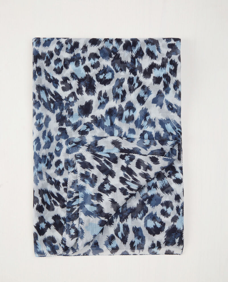 Foulard imprimé Wild panthere Cagne