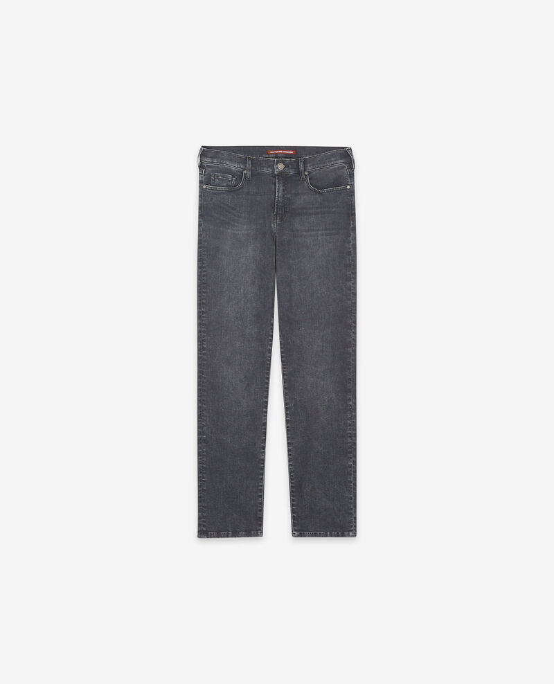 Jeans cigarette Dark grey Douvrir