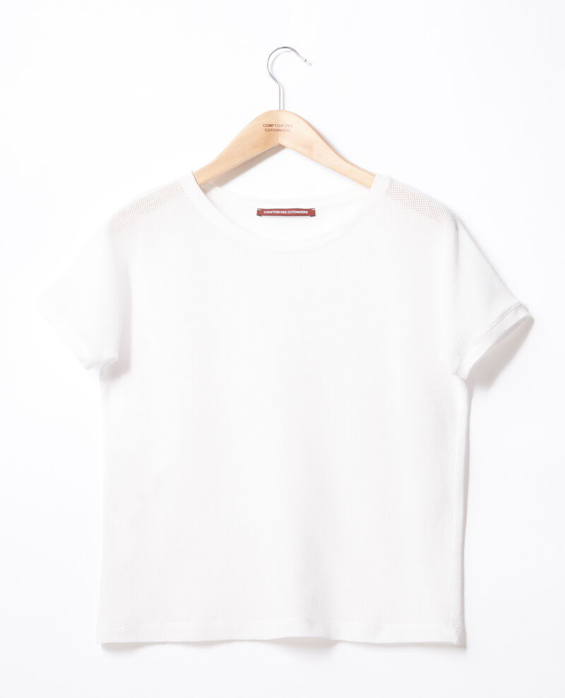 T-shirt col rond Off white Fyera