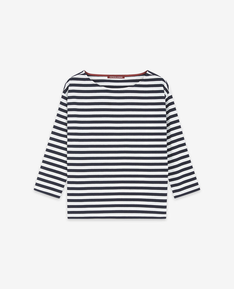 T-shirt marinière Navy/off white Ditoc
