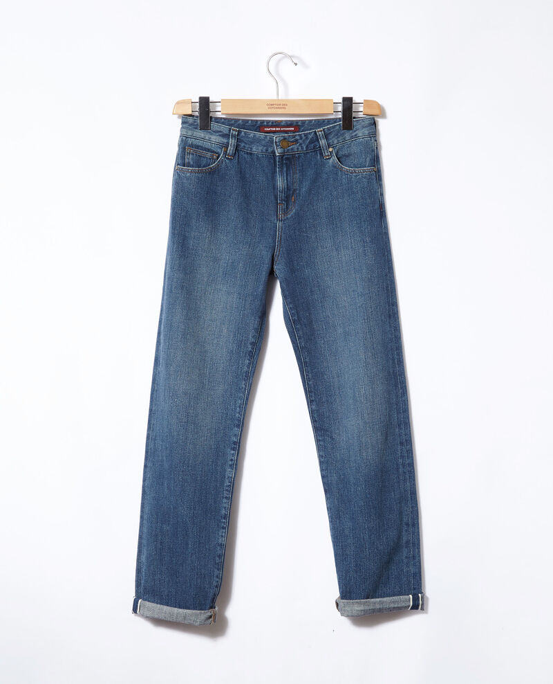 Jeans real straight Vintage wash Ganon