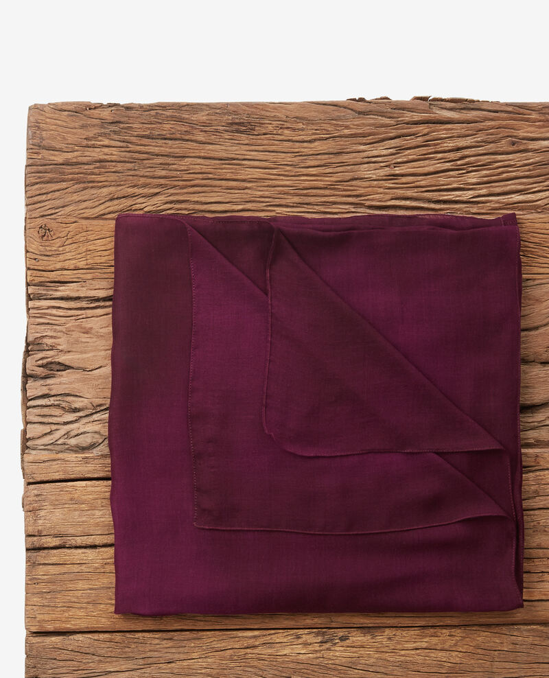 Foulard transparent Purple Deja