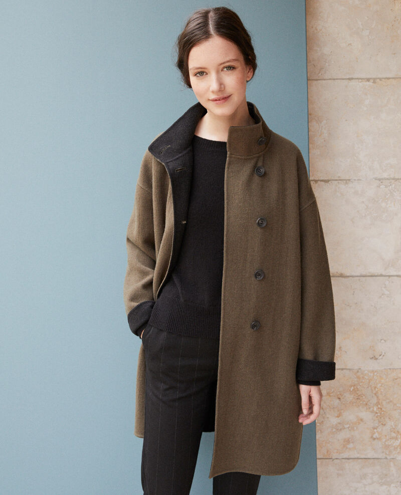 Manteau double face OLIVE NIGHT