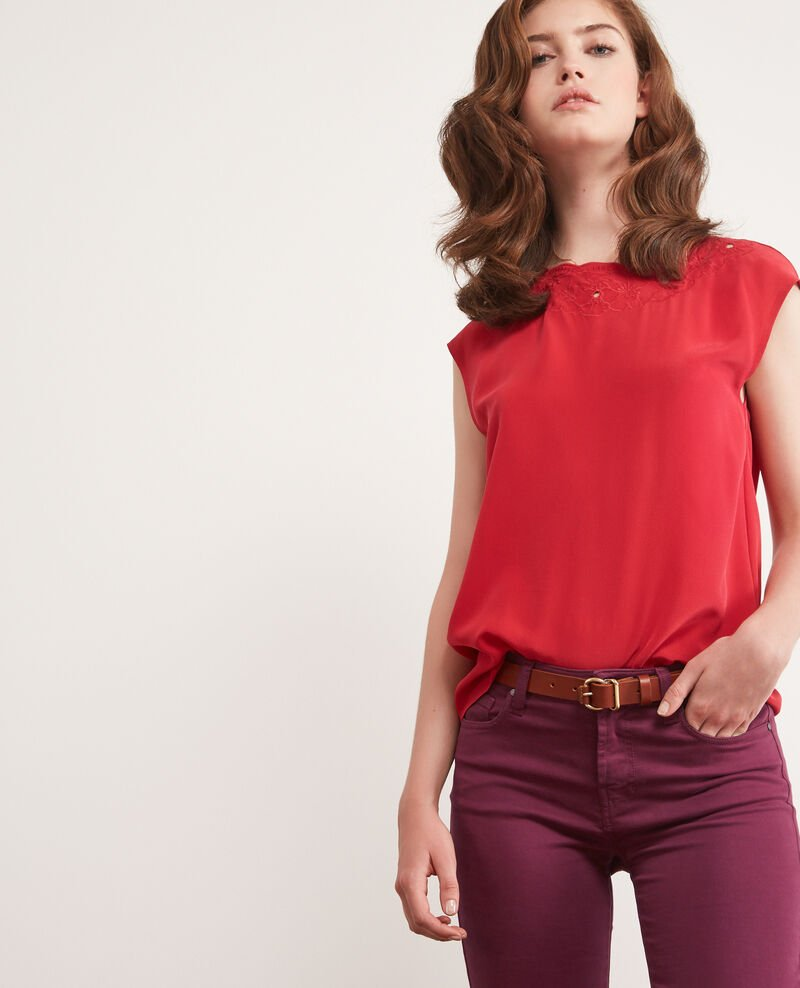 Blouse en soie CHILI PEPPER