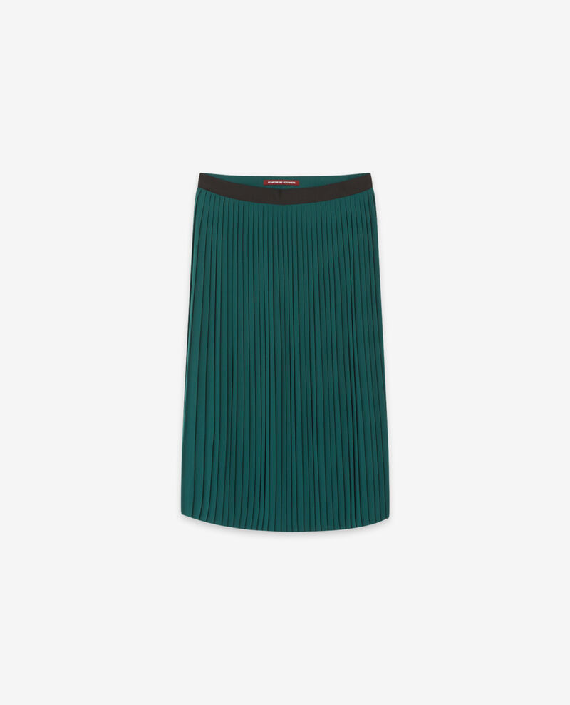 Jupe plissée Light deep green Dallerine