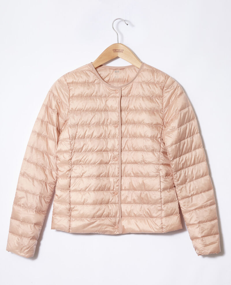 Doudoune ultra light col rond Light pink Fildown