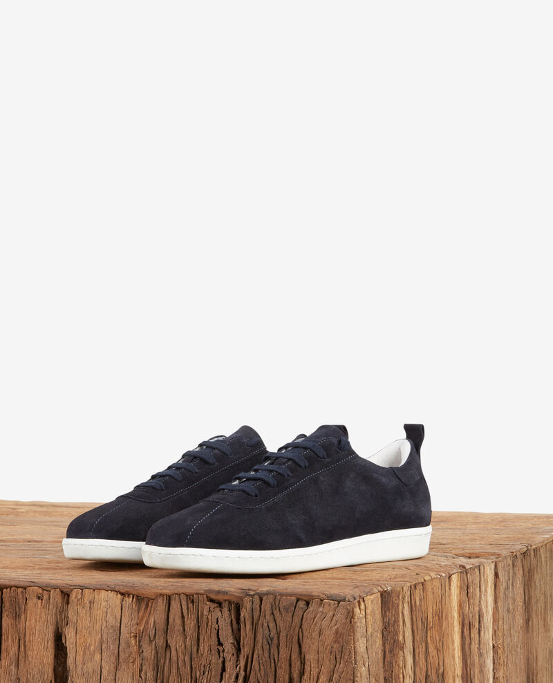 Sneakers en cuir NAVY