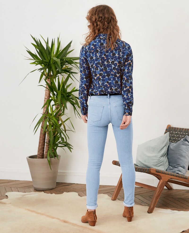 Jeans skinny California blue shade Fanage
