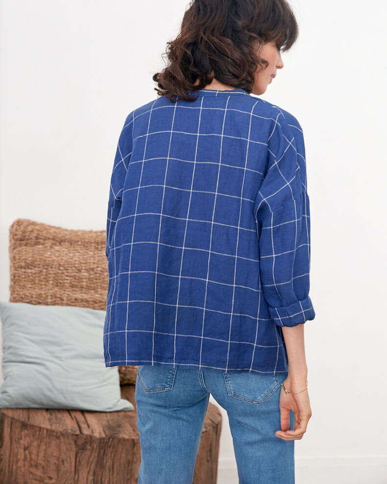 Blouse en lin Indigo Fairplay