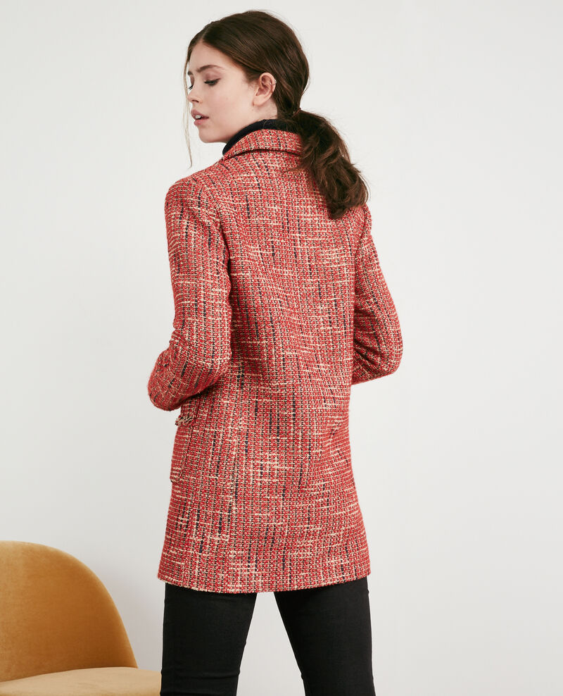 Manteau en tweed Orange red Dexception