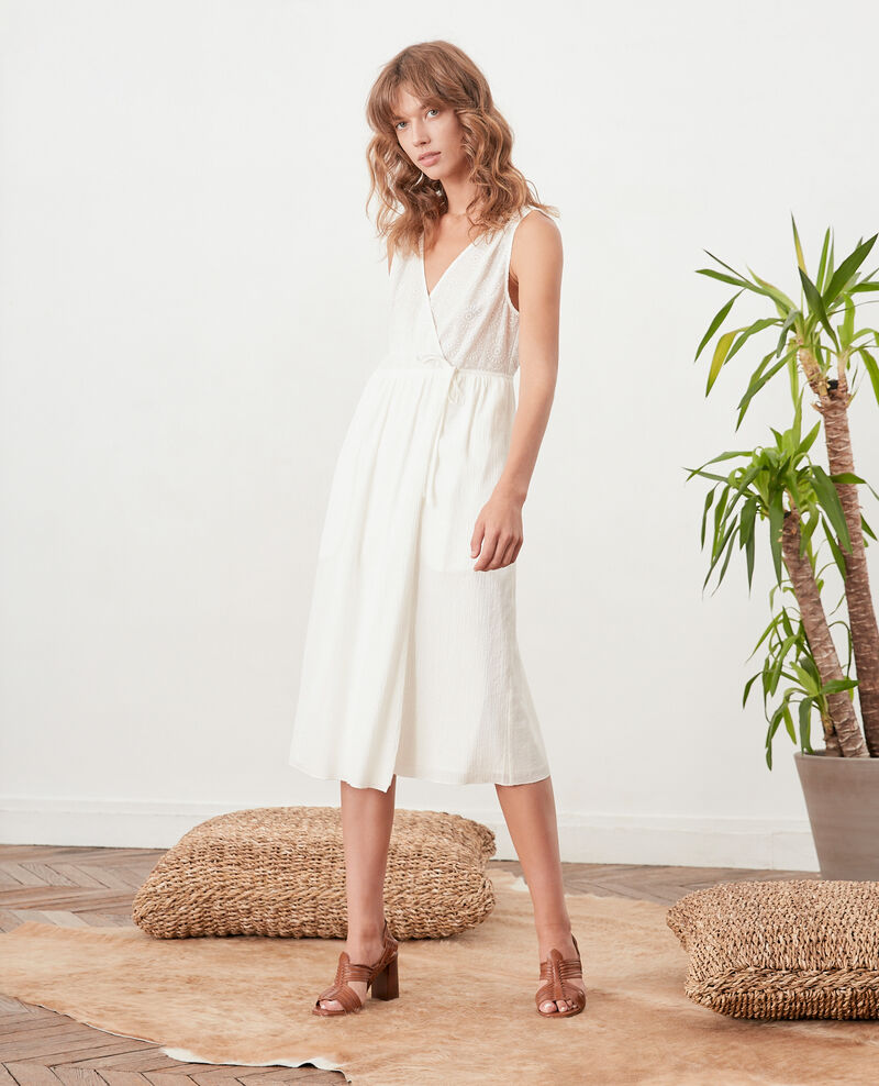 Robe portefeuille BLANC