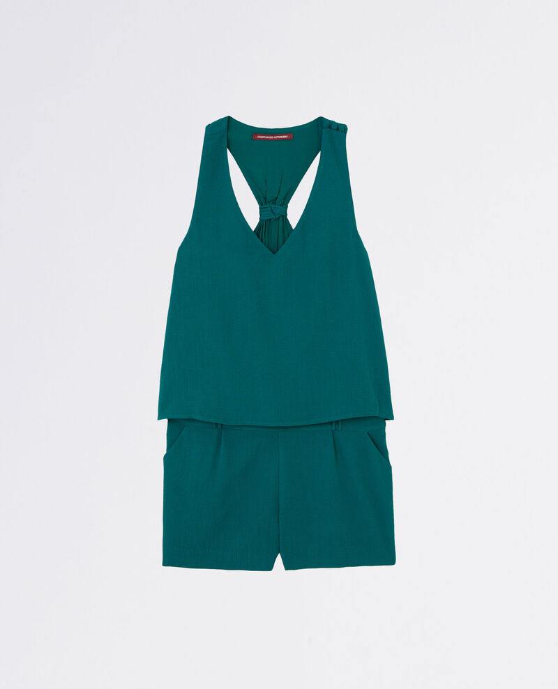 Combi-short esprit 2-en-1 Jungle green Clementine