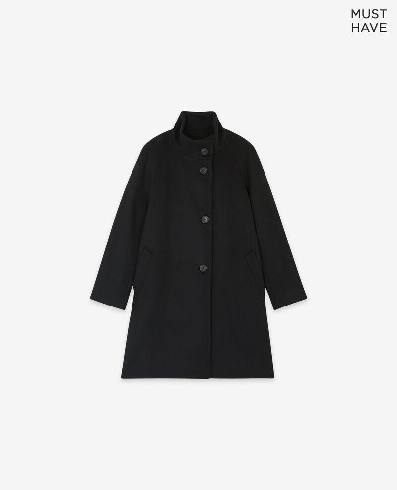 Manteau en laine Noir Dyera