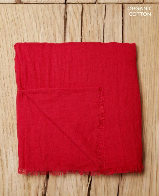 Foulard en coton organique POMPEIAN RED