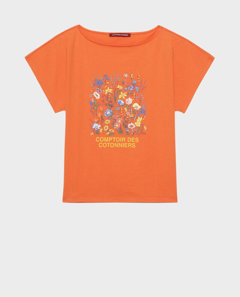 T-shirt en coton manches courtes Harvest pumpkin Marcelin