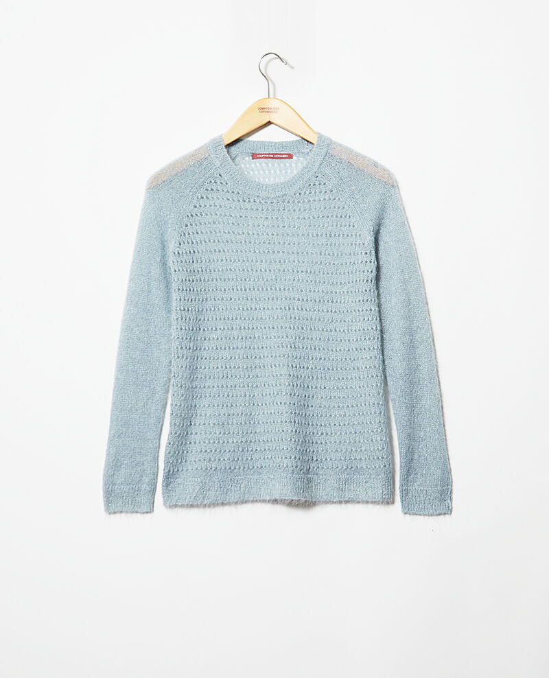 Pull avec du mohair Blue mirage Iceo