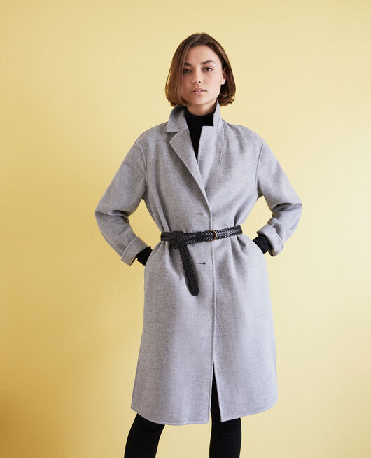Manteau double face LIGHT GREY
