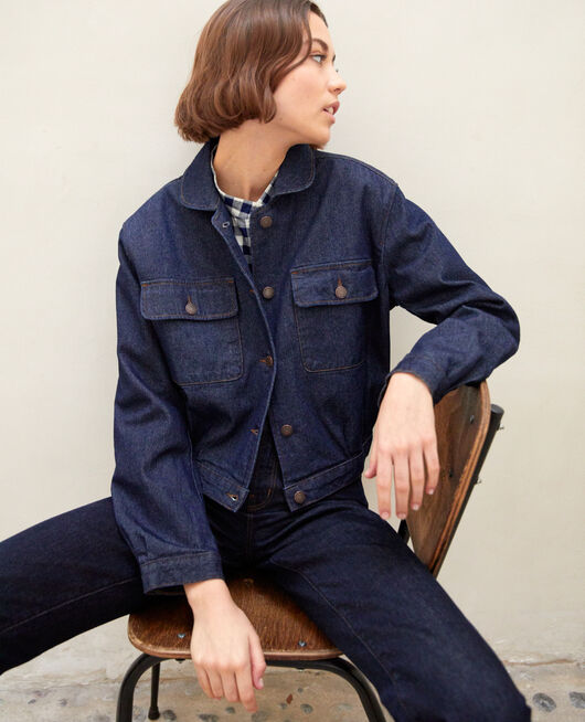 Veste en jean BLUE DENIM