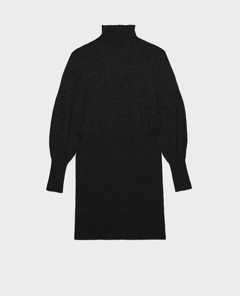 Robe pull en cachemire Black beauty Manin
