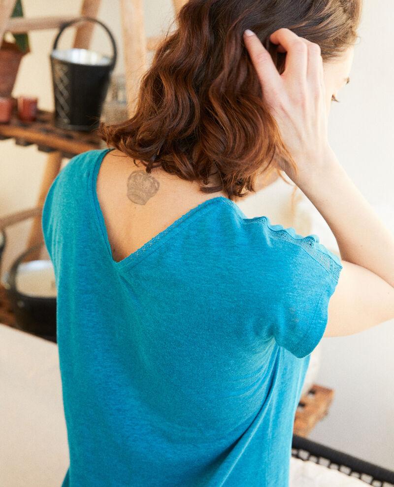 T-shirt en lin Ocean depth Itlanta