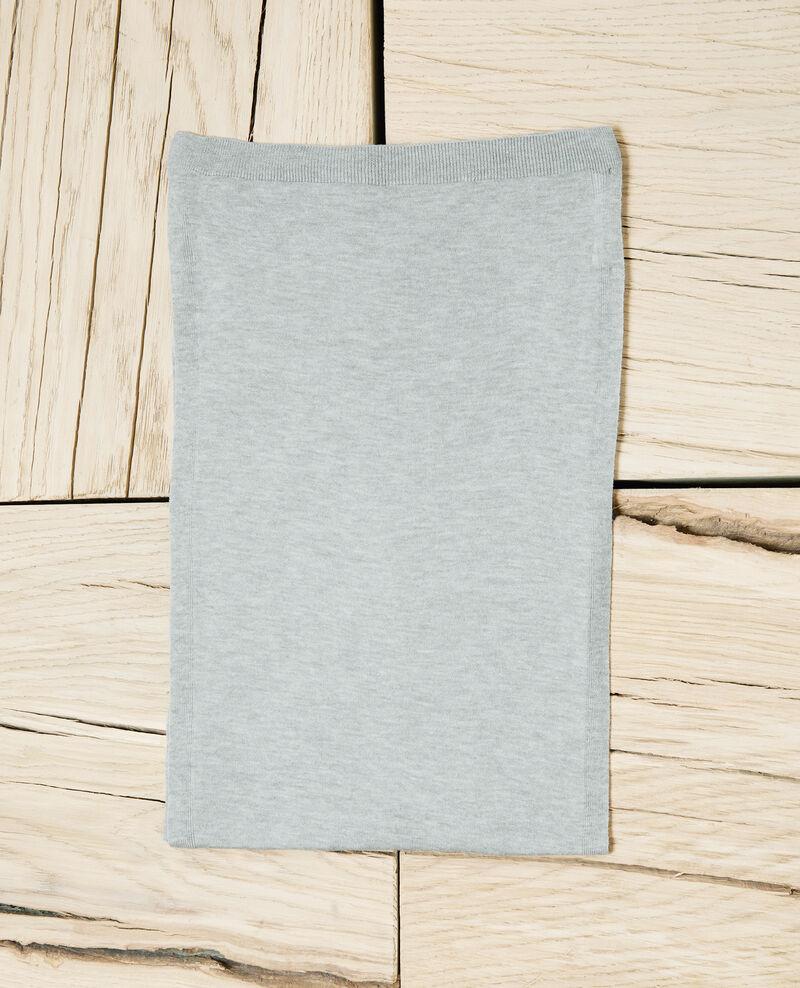 Echarpe en laine Heather light grey Iwool