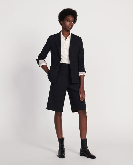Blazer en laine sèche BLACK BEAUTY