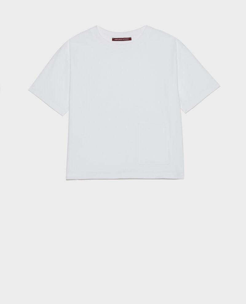 T-Shirt boxy Optical white Lexana