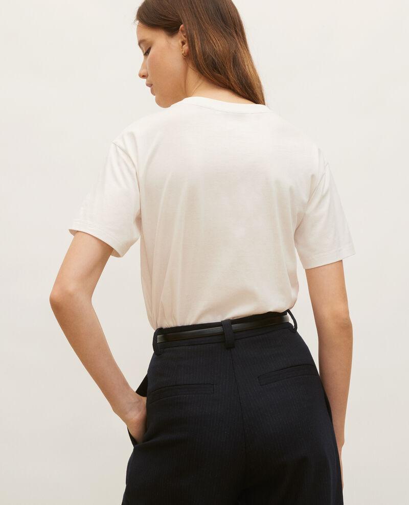 T-shirt en coton manches courtes ample Jet stream Maincy