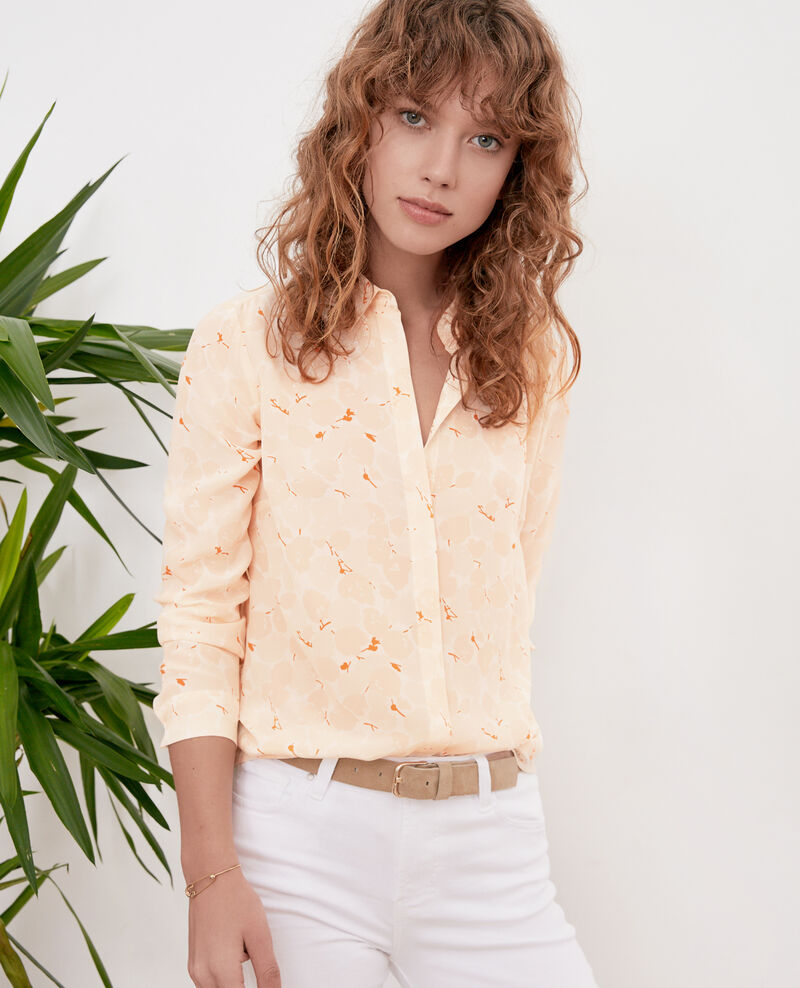 Chemise fluide Blossom shadow biscuit Filament