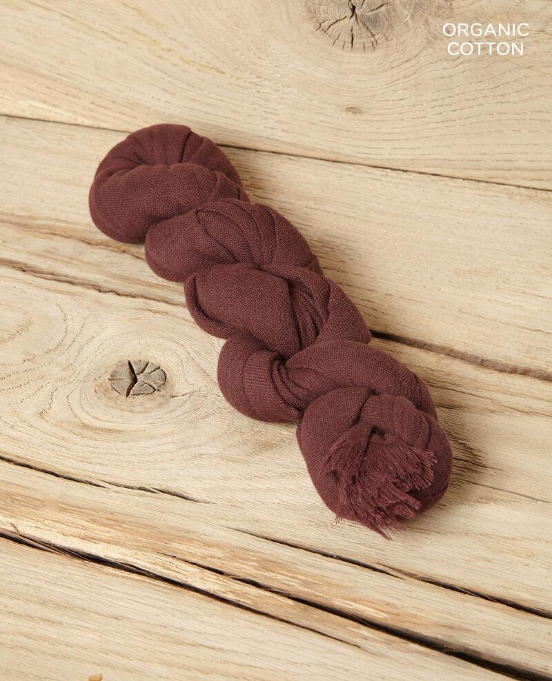 Foulard en coton organique Decadente chocolate Geste