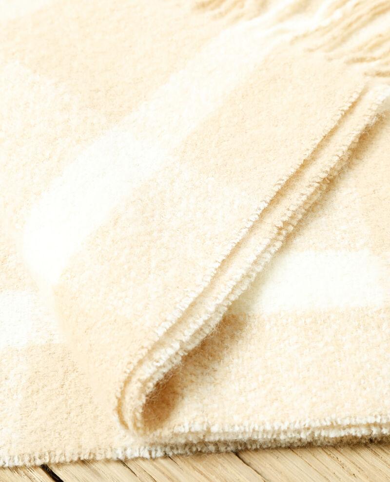 Grande écharpe Silver gray/off white Girasol