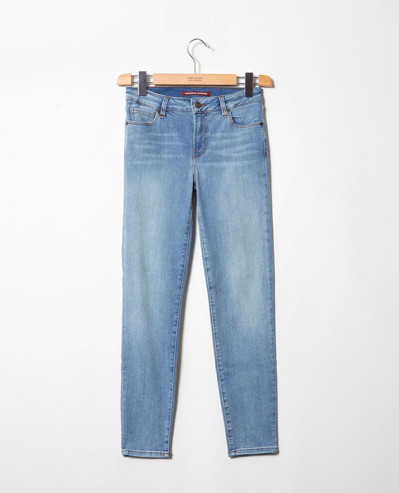 Jeans skinny 7/8 Indigo wash Iski
