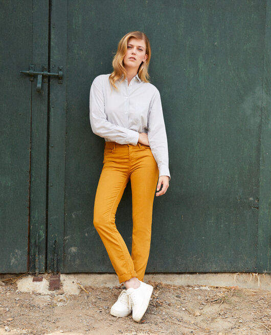 Jean coupe slim GOLDEN BROWN