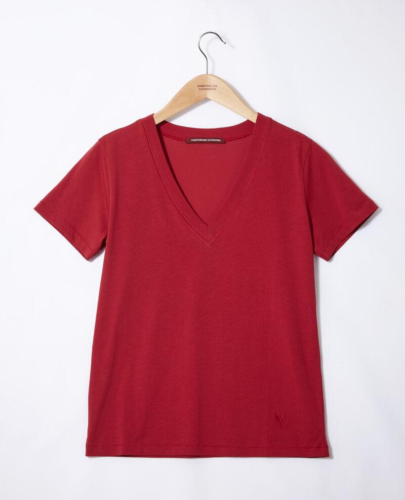 T-Shirt brodé Léon Rio red Fallen