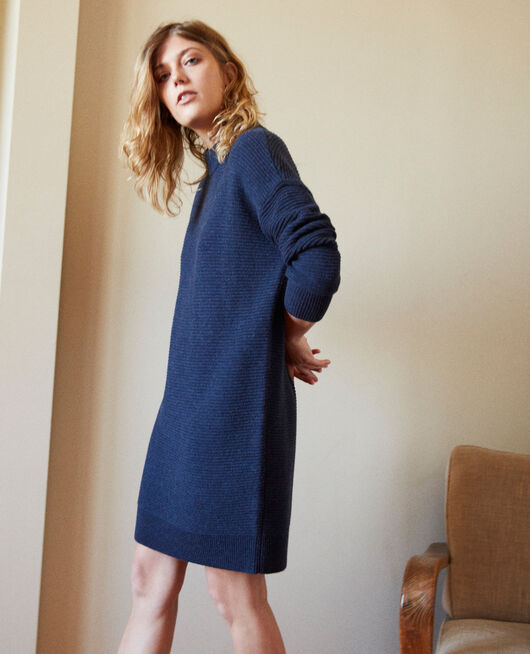 Robe pull en maille ODYSSEY GRAY