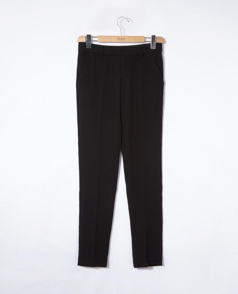 Pantalon de type tailleur Noir Gersende