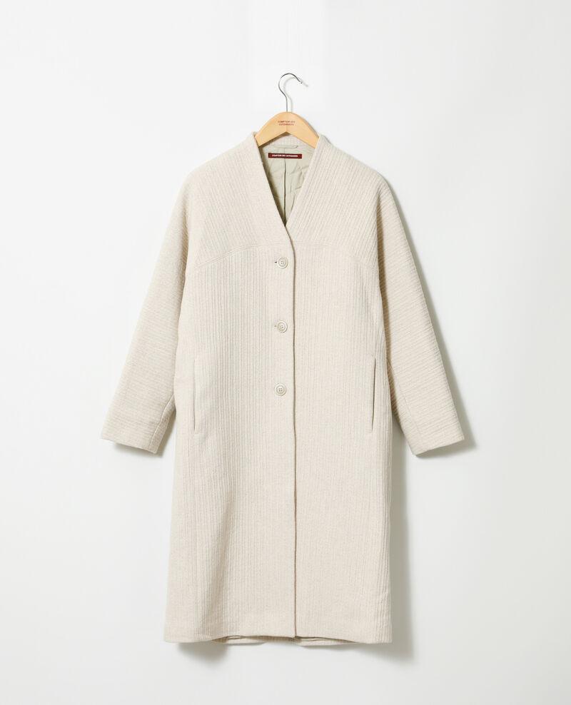 Manteau ample Off white Giovanna