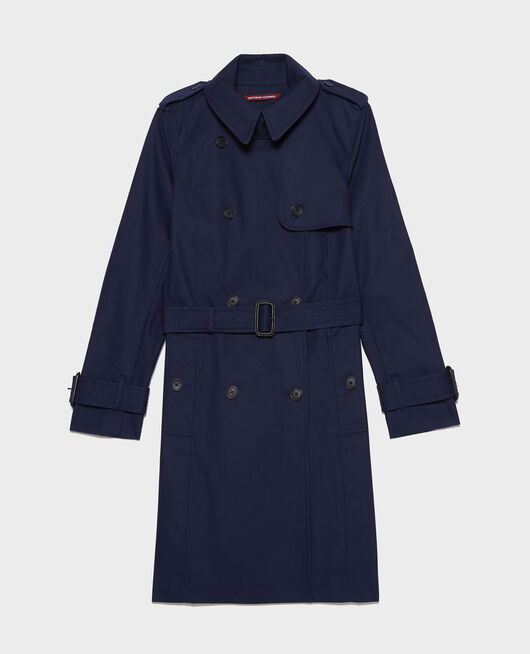 Trench iconique en coton MARITIME BLUE