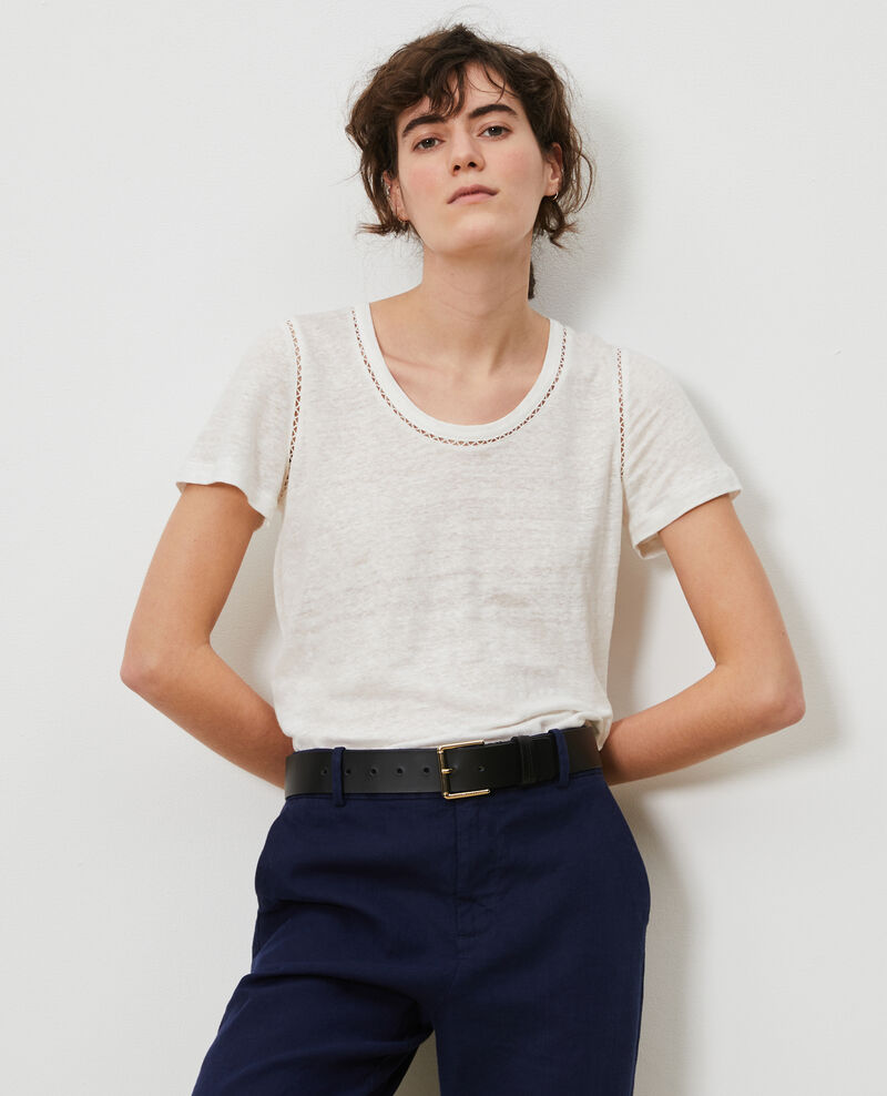 T-shirt en lin Gardenia Lye